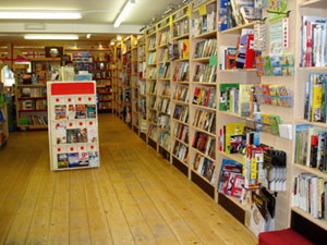 A wide selection of books